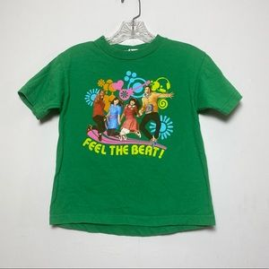 Nickelodeon Feel The Beat Graphic Tee Girl Size S